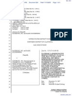 The Facebook, Inc. v. Connectu, LLC et al - Document No. 224