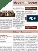 Boletín 7 - Bitácora de Jagua. Publicación de la Oficina del Conservador de la Ciudad de Cienfuegos.