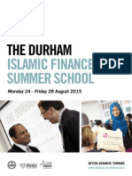 Durham University - Islamic Finance Summer School 2015