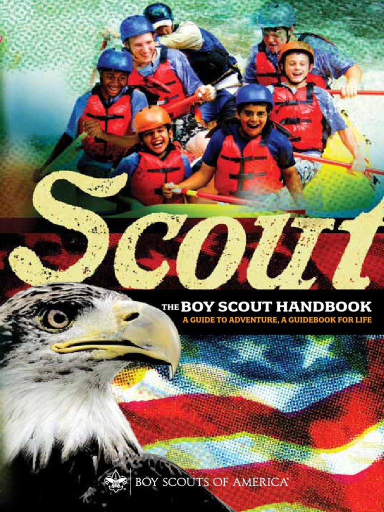 Boy scout handbook 34554 boy scouts of america scouting fandeluxe Images