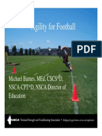 Agility for Football