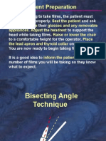 Self Study Bisecting Occlusal rx technique