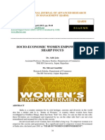 Socio Economic Women Empowerment Sharp Focus
