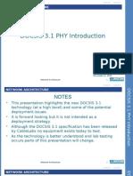 DOCSIS 3-1 Introduction