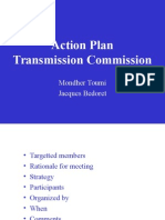 Action Plan Transparency Commission