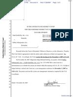DePuy Orthopaedics, Inc. v. Gault South Bay, Inc. et al - Document No. 4