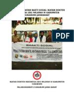 c0ver Laporan Kegiatan Bakti Sosial Ikatan Dokter Indonesia