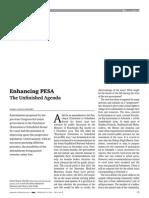 Enhancing PESA