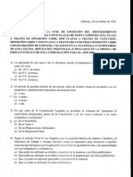Examen Peon Caminero 2014