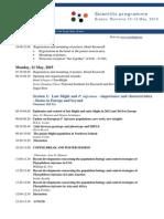 Scientific Program Euroblight Workshop