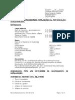 Plan Anual de Mantenimiento CONACAR 2014 TAREA GRUPO