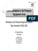 Preiss Core Standards in the Pressure Equipment Area 4668