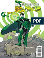 Convergence Green Lantern Parallax Exclusive Preview