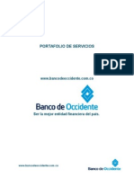 Portafolio de Servicios Banco de Occidente