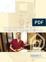 2008K Home Train-The-Trainer Manual