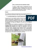 Apuntes Sobre Diseño y Construcción de Cubiertas Verdes