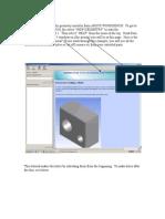 Findind Workbench Tutorial on Geometry