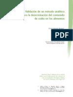 Dialnet-ValidacionDeUnMetodoAnaliticoParaLaDeterminacionDe-4835630