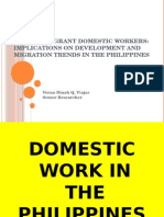 Filipino Migrant Domestic Workers