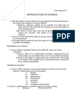 F1 Science Ok Chapter 1 Introduction to Science Doc