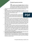 SEM Sample Preparation Instructions