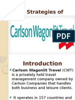 CRM Strategies of Carlson Wagonlit