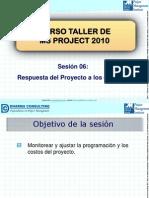 06. Curso Taller de MS Project 2010 - Respuesta del Proyecto a los Cambios.pdf
