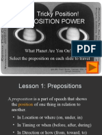 7072 Prepositions for Ld