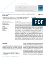 15 Block Copolymer Mixtures as Antimicrobial Hydrogels for Bioefac81lm