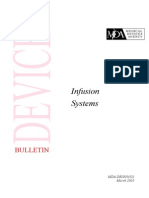 Bulletin Infusion System 2003