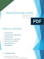 Producción Del Acero - Copia