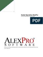 Manuale Utente AlexPro AV (Avvocati) V2008.1.1.