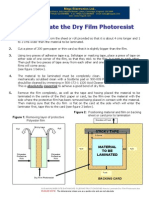 5180 Data Sheet Dry Film Photoresist (How to Laminate)
