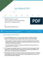 EIA Outlook 2015