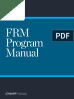 FRM 2015 manual