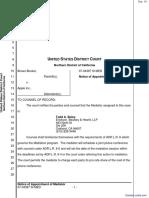Brown-Booker et al v. Apple Inc. et al - Document No. 16