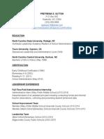 1 Trena Sutton Resume 2015