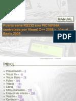 Circuito Micro PIC por RS232 y Visual Basic.NET