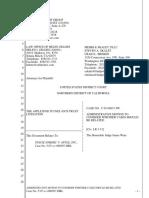 """The Apple iPod iTunes Anti-Trust Litigation"" - Document No. 151"