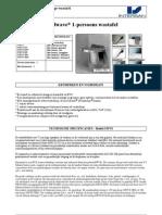 Solidwave® - Enkelvoudige Wastafel Model SWVS