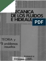 Mecánica de Los Fluidos e Hidráulica - Ronald v. Giles - Schaum MacGrawHil_LQCLI2015