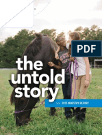 NCF 2015 Ministry Report - The Untold Story