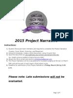 final showcase project narrative-2015 (1)