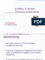 Content Analysis (Advertising)