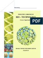 Industry Chronicle – Biotechnology
