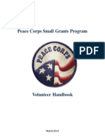 Peace Corps Small Grants Volunteer Handbook 3-30-2015