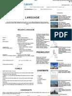 Bolinao language