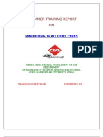 Ceat Tyres (Mrkt) Marketing Trait Ceat Tyres (Mrkt Research)