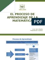 11 El Proceso de Enseñanza de La Matematica