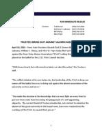 Press Release PSAA Trustees 3-14-15